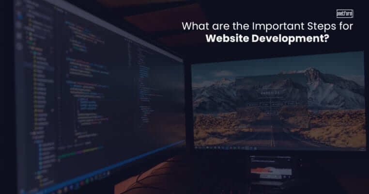 What are the important steps for website development