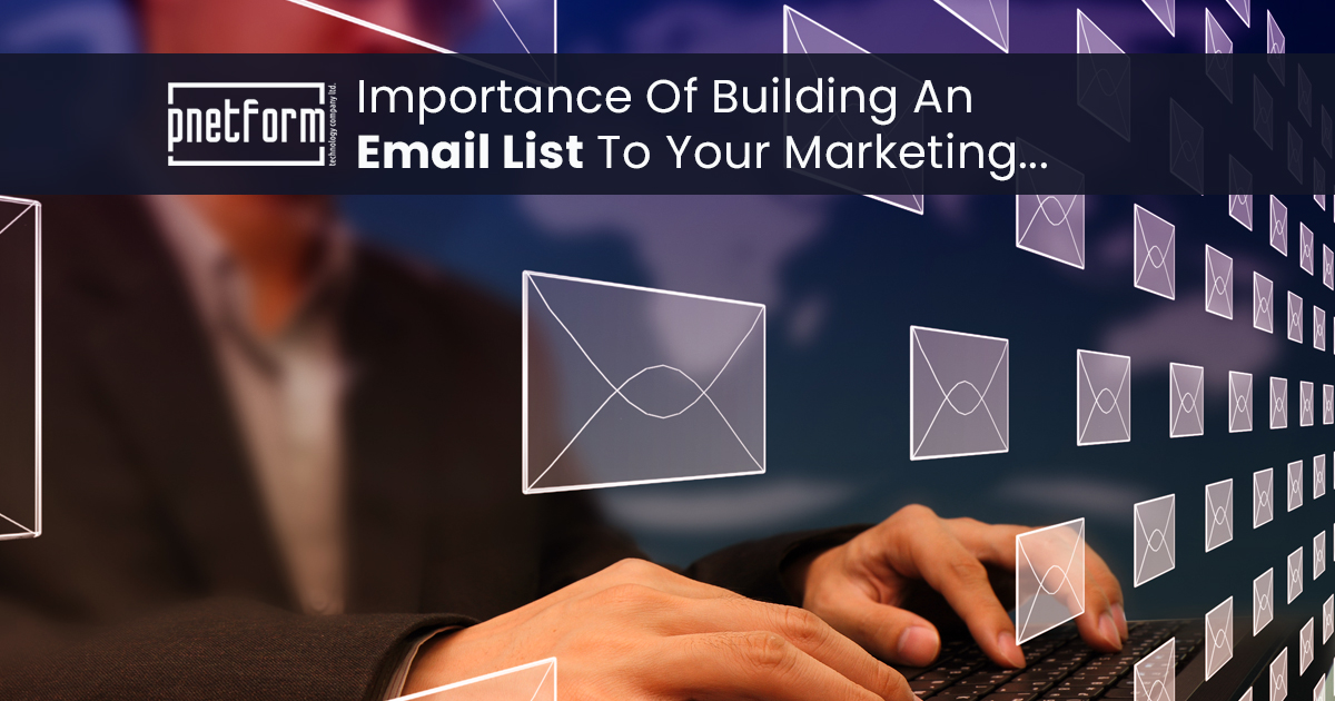 Importance Of Building An Email List To Your Marketing
