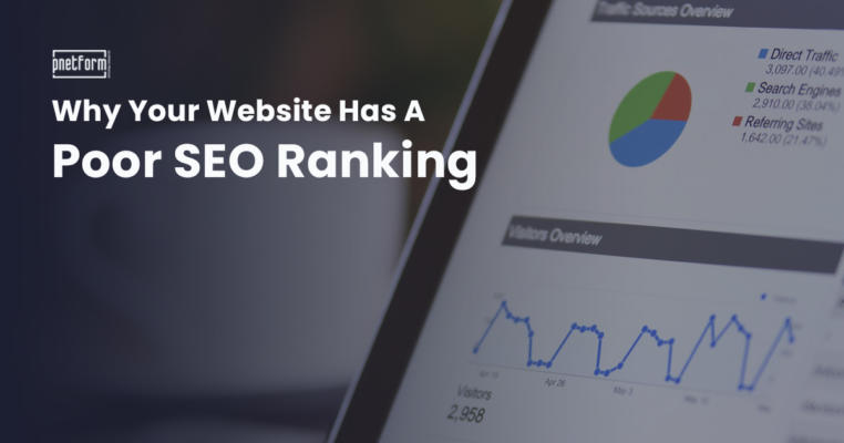 Why Your Website Has A Poor SEO Ranking
