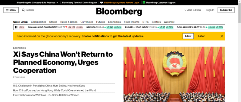 Bloomberg Financial News