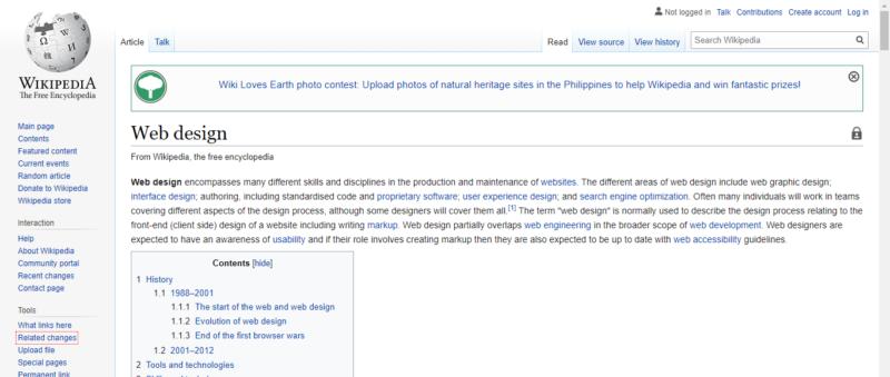 Wikipedia 網站